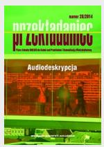 Okładka, Przekładaniec, Numer 28, Audiodeskrypcja